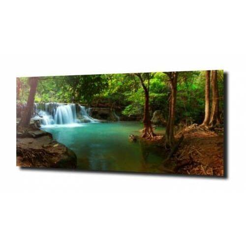 Obraz na szkle, panel szklany azjatycki las 180x60 marki Zahartowani.pl