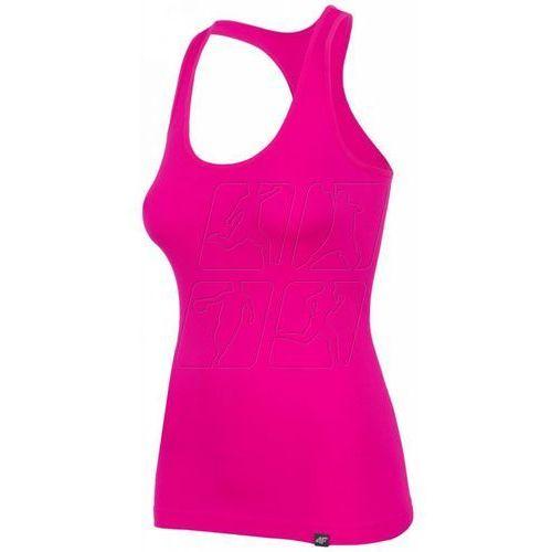 Koszulka 4f W H4L17-TSD007 neonowo-różowa