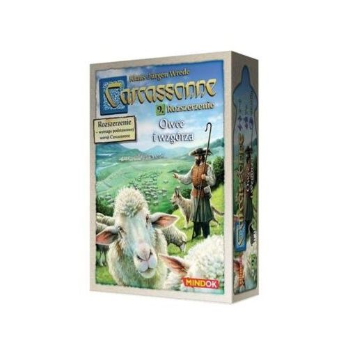 Carcassonne pl edycja 2.0, 9: owce i wzgórza marki Bard