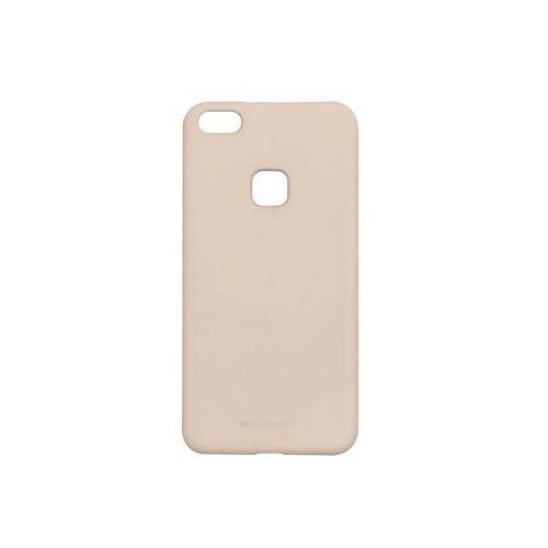 Huawei p10 lite - etui na telefon soft feeling - piaskowy róż marki Mercury goospery