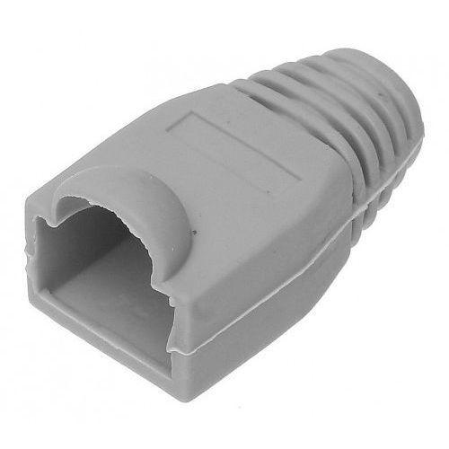 Import Osłonka wtyku modularnego rj-45 8p8c zewnętrzna szara