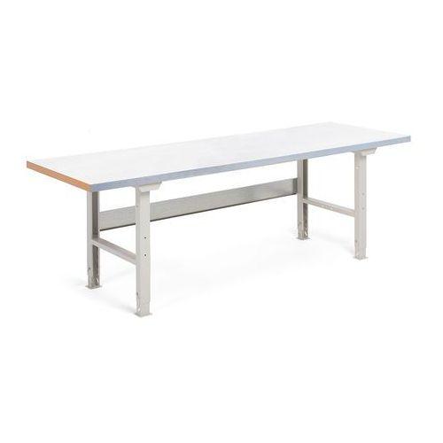Stół roboczy SOLID, 500 kg, 2500x800 mm, stal