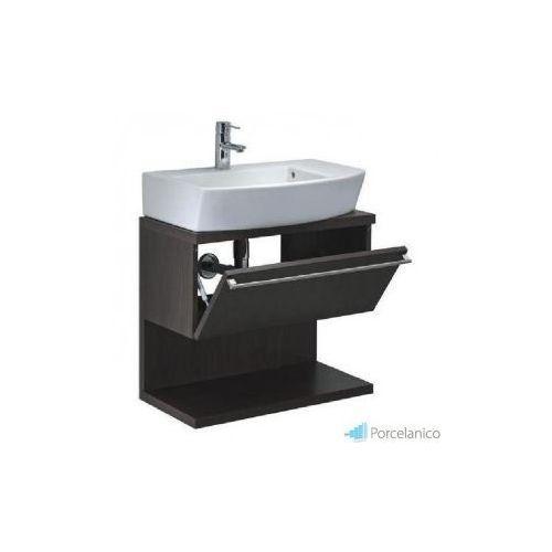 Roca hall szafka pod umywalkę z drzwiczkami (płytka) 54 x 56,5 x 24 cm a8564336xx