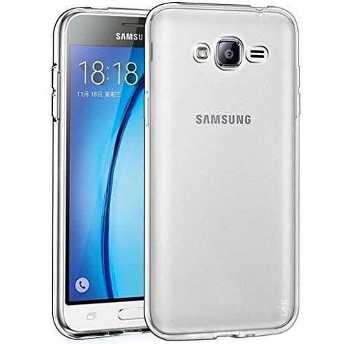 Etui QULT Back Case Clear do Samsung J320 J3 2016 Luxury (5901836732750)