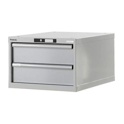 Lista Stół warsztatowy w systemie modułowym, szafka dolna,wys. 383 mm, 2 szuflady