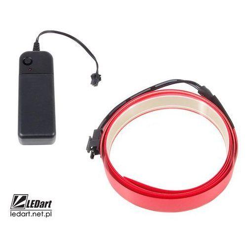 Taśma elektroluminescencyjna czerwona 1m marki Ledart