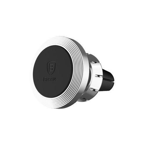 uchwyt magnetyczny na kratkę zapachowy - srebrny - srebrny marki Baseus