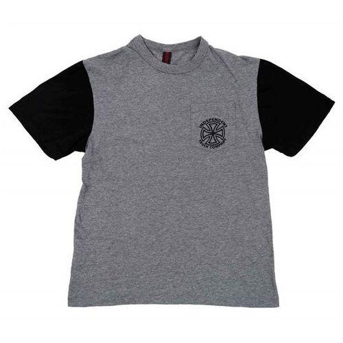 koszulka INDEPENDENT - Vintage Bauhaus Pkt Dark Heather/Black (DARK HEATHER/BLACK)