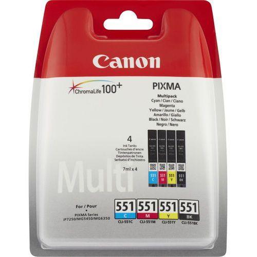 Canon Tusz cli-551 cmybk blister w/o 6509b009 (8714574584416)