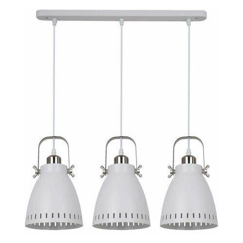 Italux Franklin lampa wisząca 3-punktowa biała md-hn8026s-3-wh+s.nick