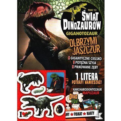 Świat Dinozaurów T.12 Gigantozaur (9788381178655)