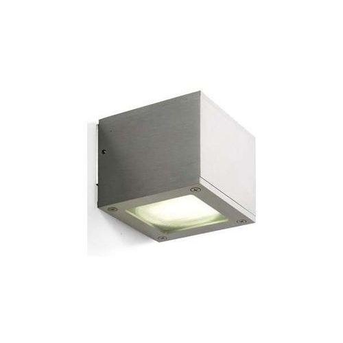 Kinkiet lampa ścienna bibi r10176  kwadratowa oprawa kostka aluminium marki Redlux