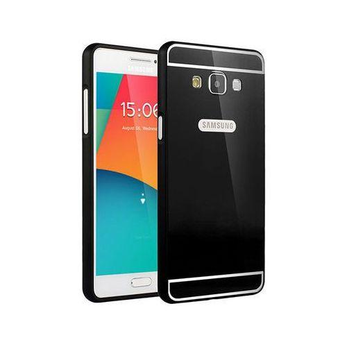 Czarne Etui aluminium Bumper Samsung Galaxy A5 - Czarny