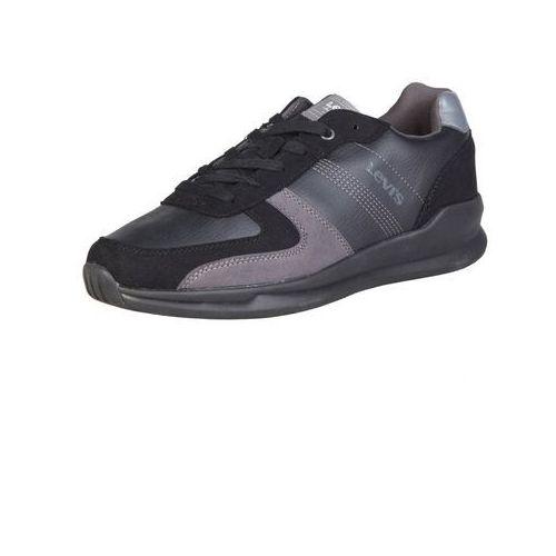 Męskie buty levi's 226319 193 czarne, Levis