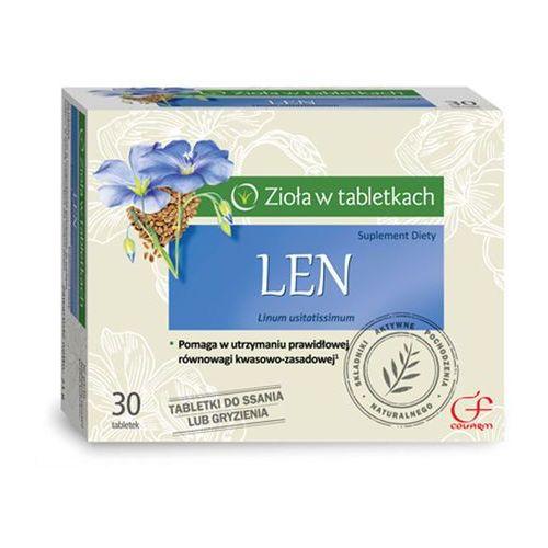 Tabletki Len 60tabletek do ssania Colfarm