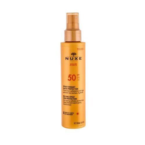 NUXE Sun Melting Spray SPF50 preparat do opalania ciała 150 ml dla kobiet (3264680012525)