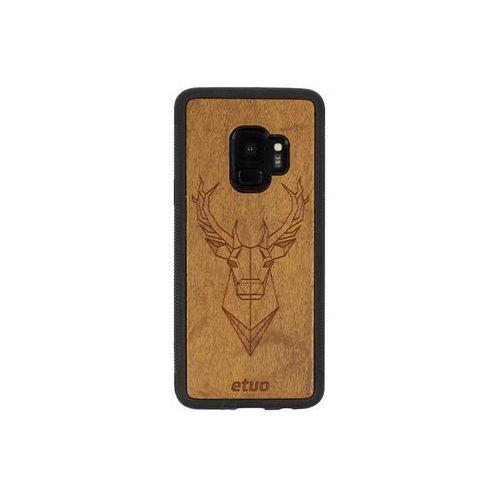 Samsung galaxy s9 - etui na telefon wood case - jeleń - imbuia marki Etuo wood case
