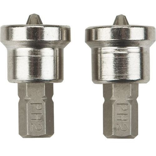 Neo Końcówki wkrętakowe 06-040 do płyt kartonowo-gipsowych 1/4 cala ph2 x 25 mm (2 sztuki) (5907558410099)