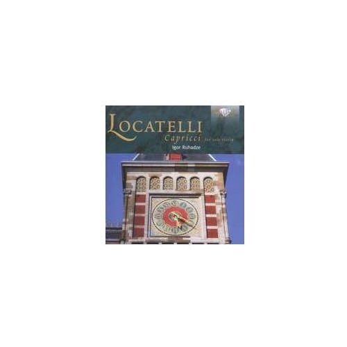 Brilliant classics Locatelli: capriccii; igor ruhadze violin solo (5028421947747)