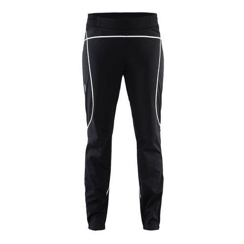 x-c force pant damskie, ocieplane spodnie sportowe 1905249-999900 marki Craft