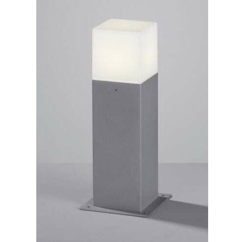 Trio hudson 520060187 lampa stojąca ogrodowa 1x4w e14 szara (4017807241570)