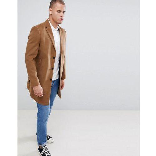 New Look overcoat in camel - Tan