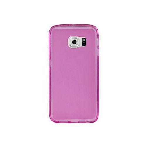 Etui silikonowe FLEXmat do Samsung Galaxy S6 - Różowy, kolor Różowy