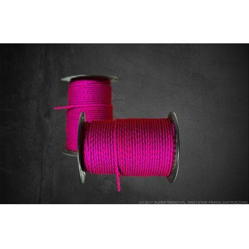 Kabel w oplocie kbs- magenta marki Oldlight