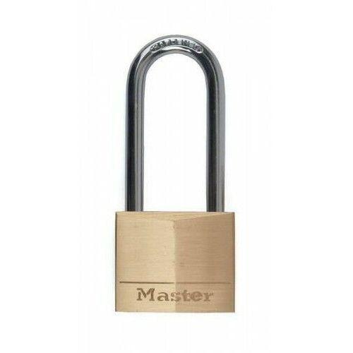 Kłódka mosiężna 140EURDLH z długim pałąkiem Master Lock, 9C02-754C9_20160907172334
