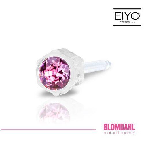 Kolczyk do przekłuwania uszu Blomdahl - Rose 4 mm