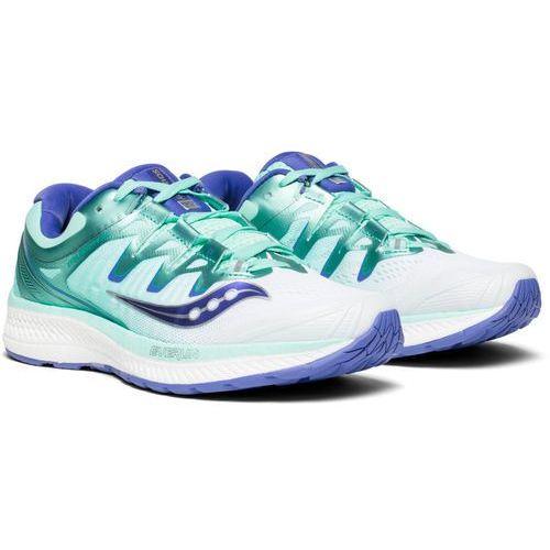 Saucony triumph iso 4 buty do biegania kobiety biały/turkusowy us 8 | 39 2018 szosowe buty do biegania (0884547877703)