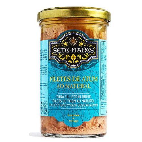 Filety z tuńczyka w sosie własnym 250g marki Sete mares