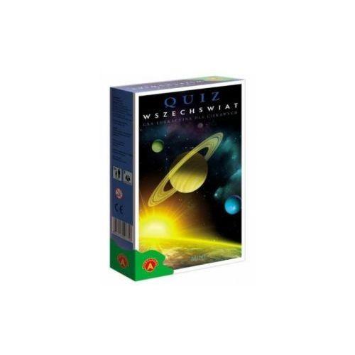 Quiz wszechświat. wersja mini. gra edukacyjna marki Alexander