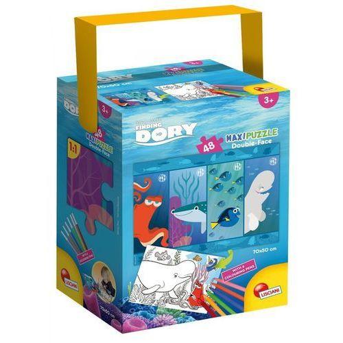 Puzzle Maxi Dwustronne Gdzie jest Dory 48 - Lisciani