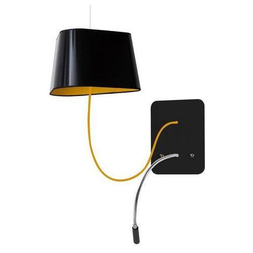 Petit nuage-kinkiet podwieszany z lampą do czytania led Ø24cm marki Designheure