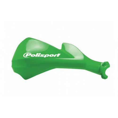 Komplet osłon kierownicy sharp [zielony] marki Polisport