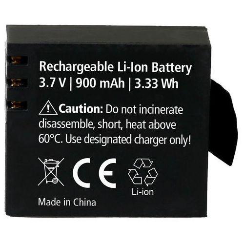 Rollei ac – akumulator wymienny do twoich rollei actioncam – akumulator litowo-jonowy (3,7 v/900 mah) – czarny
