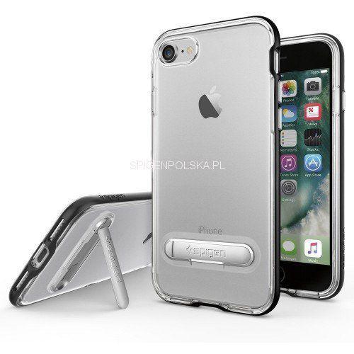 Spigen Crystal Hybrid 042CS20671 iPhone 7 (czarny), 042CS20671