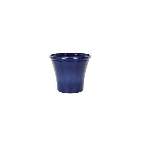 Doniczka ciemnoniebieska ⌀46 cm kokkino marki Beliani