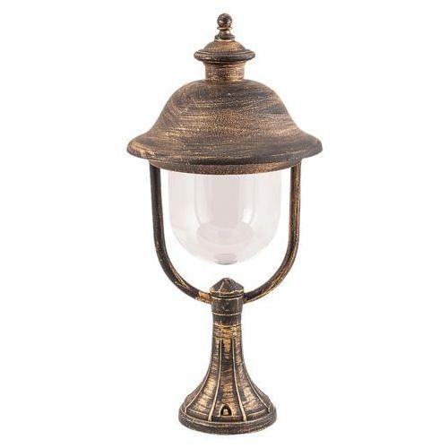 Lampa stołowa zewnętrzna ogrodowa new york 1x100w e27 ip44 antyczne złoto 8698 marki Rabalux