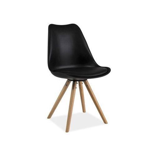 Krzesło Eric Czarny, kolor czarny