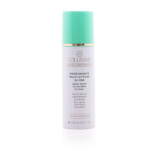 Collistar  multi active deodorant 24h dry spray 125ml w deodorant