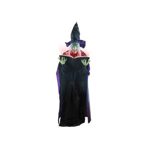 Wiedźma z księgą śmierci - 180 cm (8712364749861)