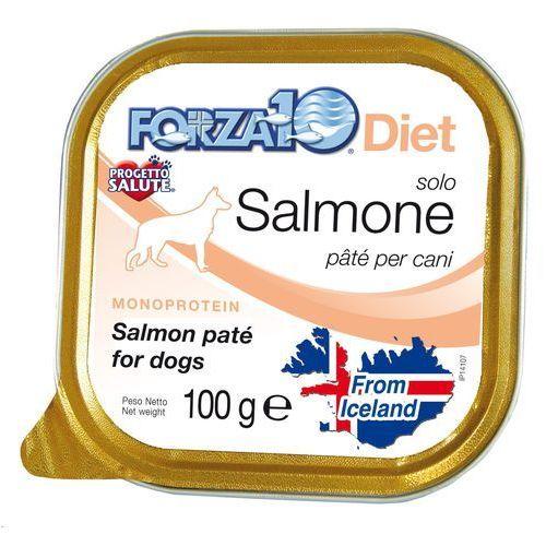 Forza10 solo diet dla psa 100g: smak - łosoś dostawa 24h gratis od 99zł