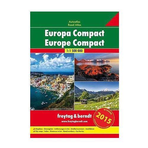 Europa atlas kompaktowy 1:1 500 000, Freytagberndt