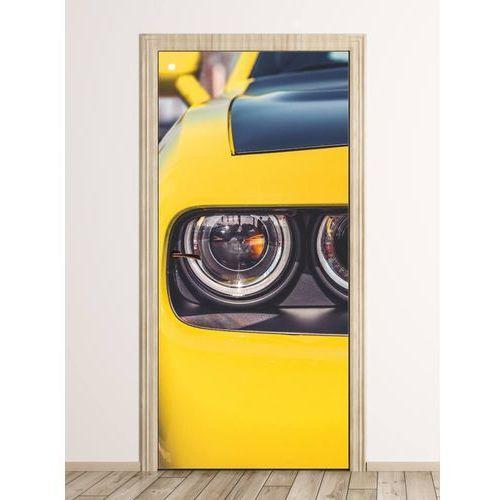 Wally - piękno dekoracji Fototapeta na drzwi auto sportowe fp 6280