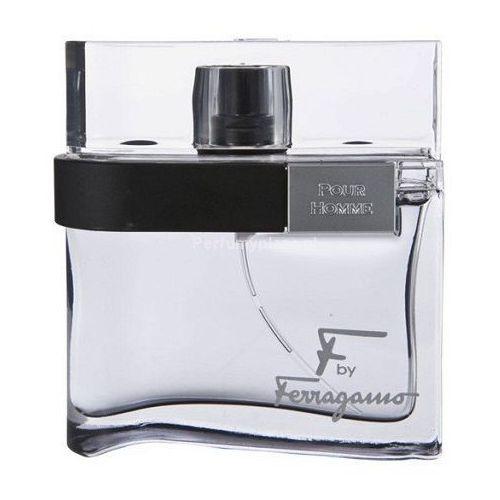 Salvatore ferragamo f by ferragamo black woda toaletowa tester dla mężczyzn 100 ml + do każdego zamówienia upominek. (8032529118111)
