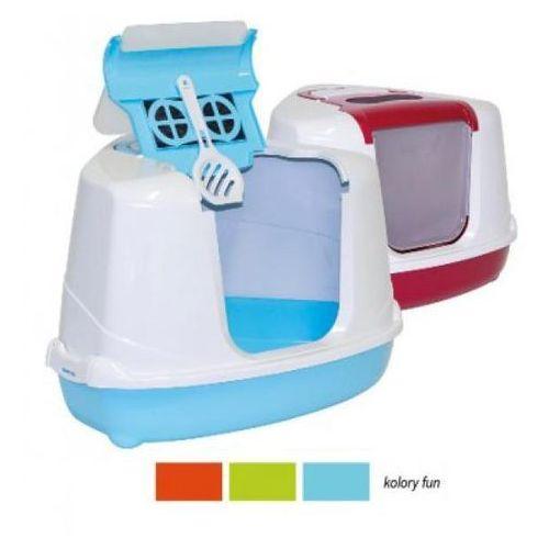 YARRO Toaleta narożna z filtrem dla kota FLIP Fun
