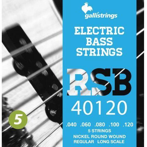 rsb40120 - struny do gitary basowej marki Galli