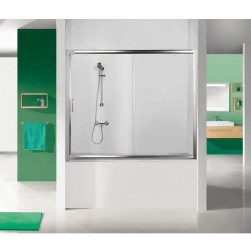 SANPLAST drzwi nawannowe TX5 120 wnękowe szkło W15 (parawan) D2-W/TX5b-120 600-271-1520-38-231